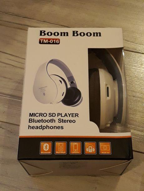 Nowe Super słuchawki bluetooth bezprzewodowe Hi-fi rewelacyjna jakos