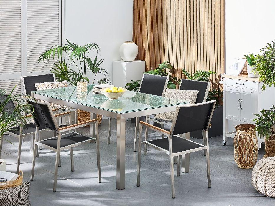 Zestaw ogrodowy meble ogrodowe stół + 6 krzeseł Grosseto Police - image 1