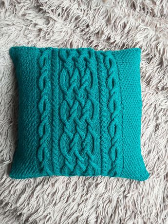 Ręcznie robiona poszewka na poduszkę