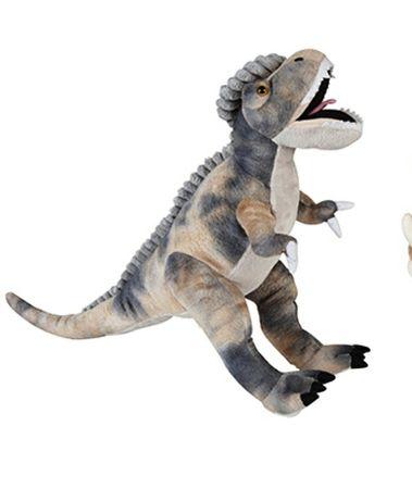 Мягкая фирменная игрушка динозавр Дино
