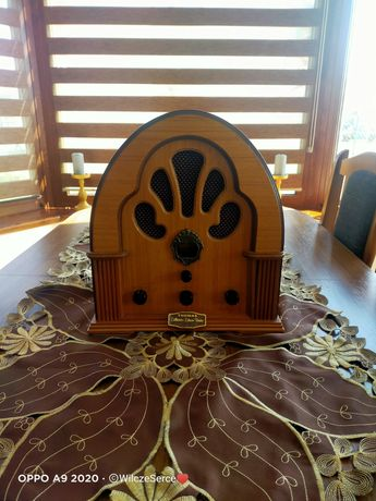 Radio drewniane retro Thomas Collectors Edition BD109