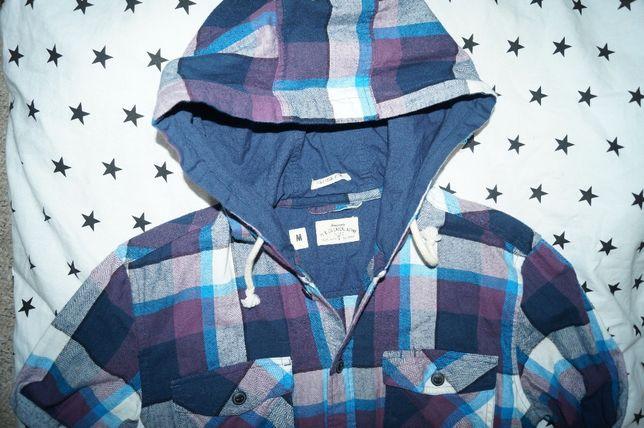 PL&Co Casual Atterie-koszula z kapturem - m
