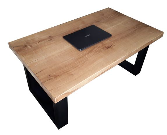 Stół industrialny ława loft nowoczesna stolik 120x55 konstrukcja