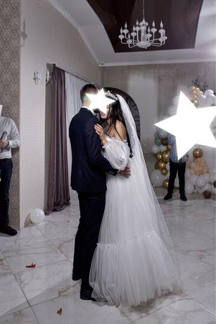 Продам свадебное платье айвори
