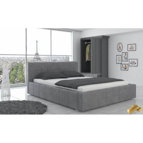 Łóżko Carlos 160x200 z materacem KOKOS VISCO !!! WYSYŁKA 24H