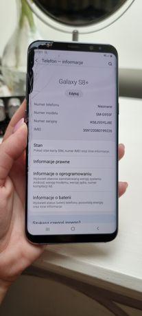 Samsung s8+ przednia szybka rozbita. Technicznie - bez zarzutu!