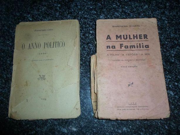 2 livros bastante antigos