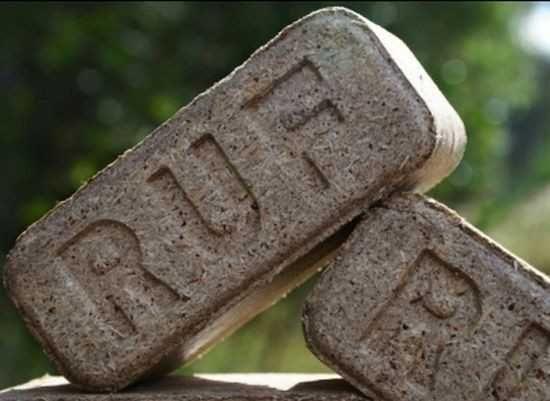 Топливные брикеты RUF отопление дрова долгого горения от производителя
