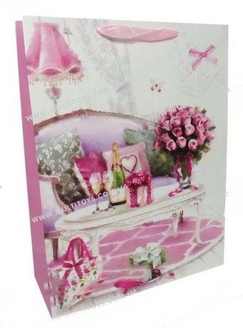 Подарочный пакет картон 200грм подарочная упаковка праздничный