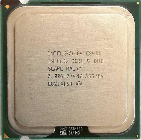 Процессор Intel Core 2 Duo E8400 , Pentium Dual Core, Pentium D LGA775