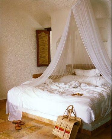 Baldachim Moskitiera nad łóżko Uniwesalna Siatka na komary owady