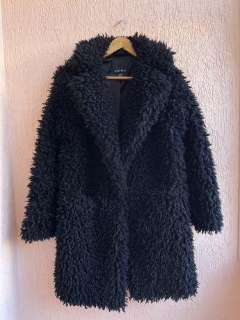 Искусственная шубка тедди пальто эко-мех Amisu