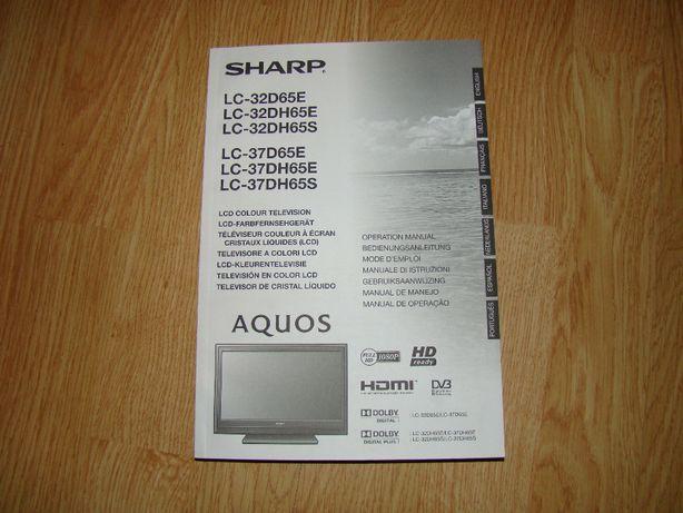 SHARP AQUOS LC-32D65E , LC-37D65E instrukcja obsługi.