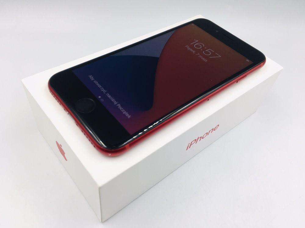 iPhone 8 64GB RED • GWAR 12 msc • DARMOWA wysyłka • FAKTURA
