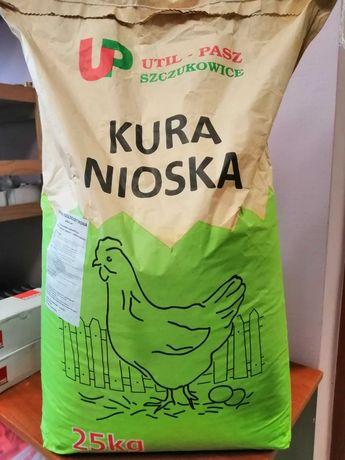 Util-Pasz pasza Kura Nioska dla kur granulat 25kg i 10 kg