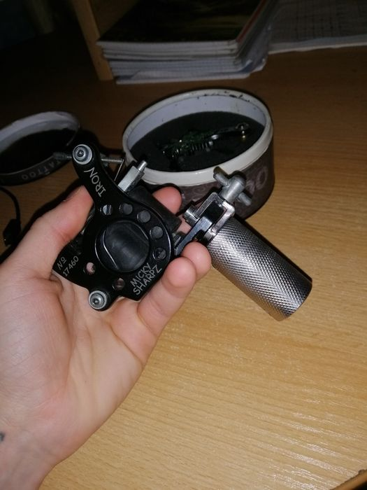 Комплект из 2-х тату машинок и аксессуаров MICKY SHARPZ IRON Одесса - изображение 1
