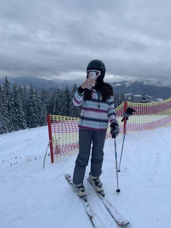 Куртка и штаны для лыж