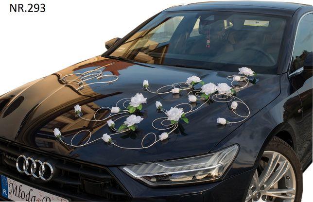 Montaż na przeźroczystej przyssawce florystycznej-dekoracje nasamochód