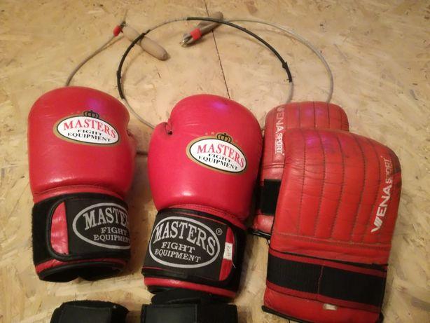 Rękawice Bokserskie/Kickboxingu/Skakanka