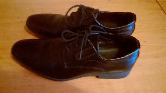 czarne buty, komunijne rozmiar 38
