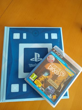 Detektyw Diggs+ wonderbook Ps3