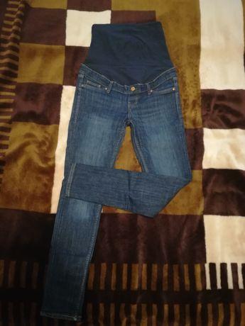 Spodnie jeansy ciążowe H&M 38