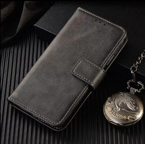 Кожаный чехол книжка Xiaomi mi10