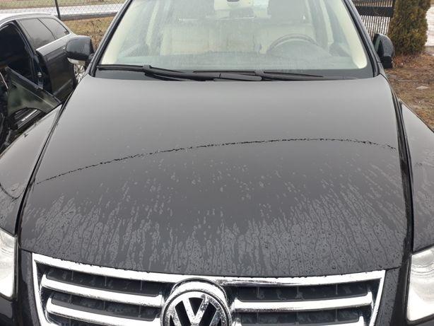 VW TOUAREG 7L LC9Z maska czarna idealna kompletna