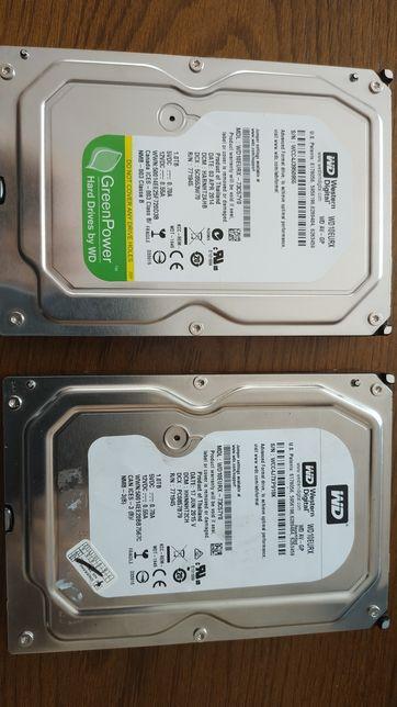 Dysk WD SATA 1.0 TB używany dwie sztuki Green power Jak za darmo.