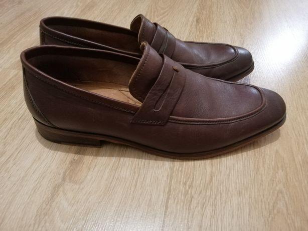 Мужские кожаные туфли Pierre Cardin