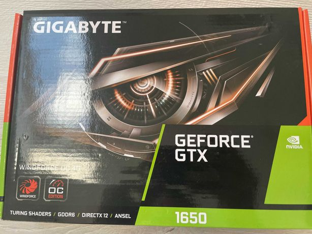 Karta graficzna Gigabyte GeForce GTX 1650 D6 Windforce OC 2.0 4GB