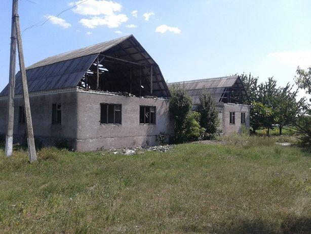 Продам недобудований будинок в селі Іванівка Петриківського району