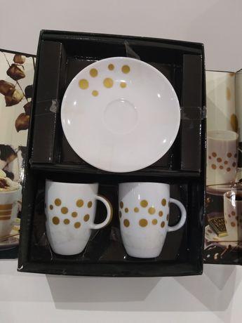 Chávena de café+pires (2 pares)