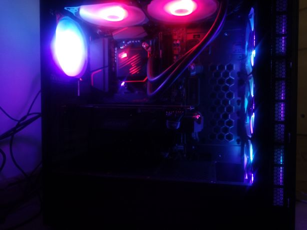 Komputer gamingowy ryzen 9 rtx 2080 super. + 2 monitory