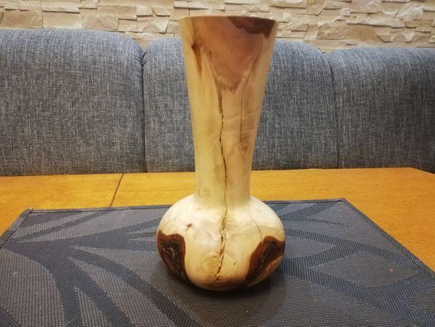 Wazon drewniany