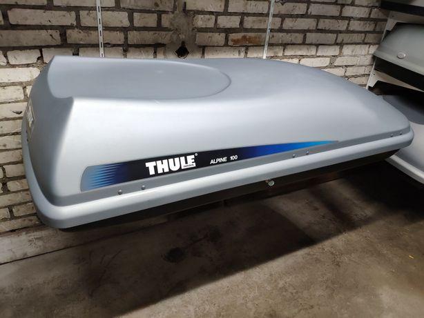 Box dachowy Thule Alpine 100 pojemność 330 litrów