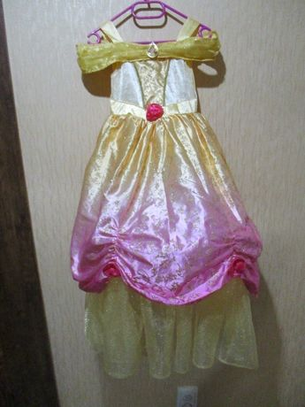 Карнавальное платье принцессы Disney 5-6лет