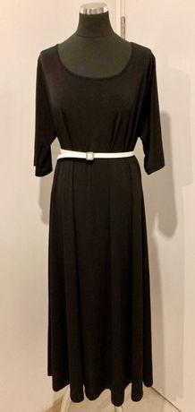 Sukienka czarna rozmiar 48