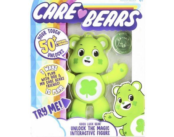 "Care Bears - 5"" Interactive Figure - Share Bear - 50+ Reactions & Surp"
