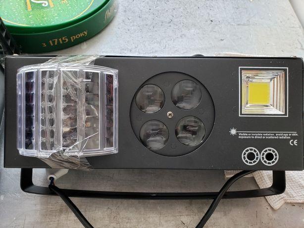 Лазер для дискотеки 3 в 1