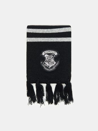 Новый длинный черный шарф Гарри Поттер Хогвартс Harry Potter Hogwarts