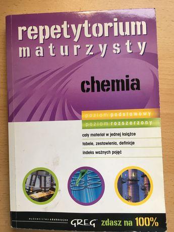 Repetytorium maturzysty CHEMIA, poz.podst+rozsz., Greg, 2010