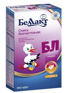Смесь Беллакт БЛ Безлактозная 0-12 мес 400 г Беларусь