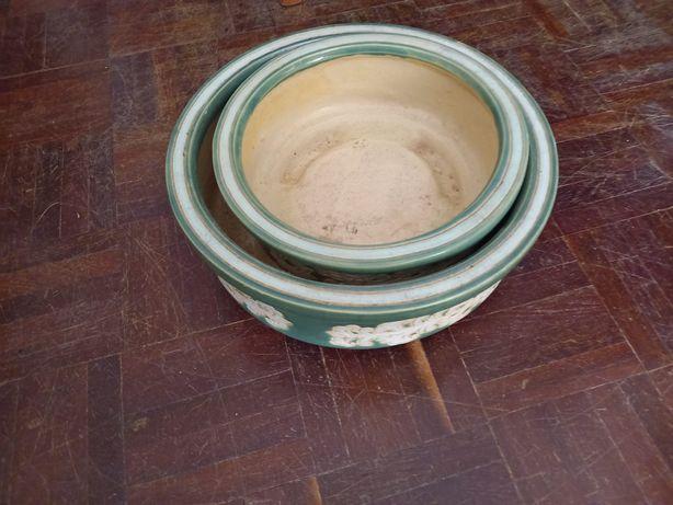 Vasos vintage ornamentados