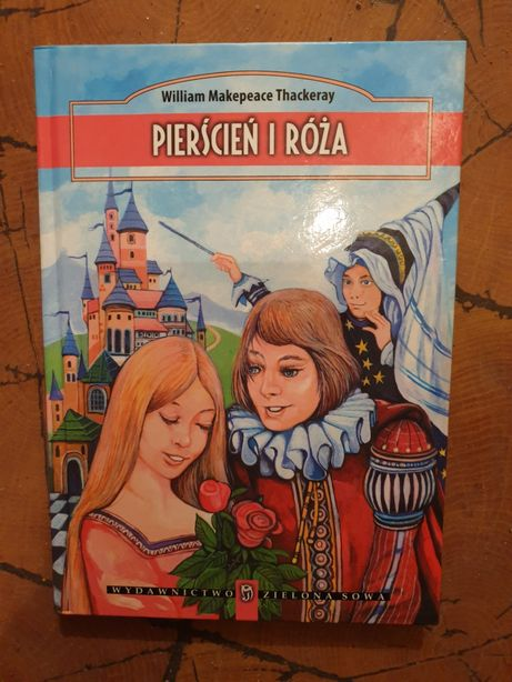 Nowa książka Pierścień i Róża dla dzieci i młodzieży