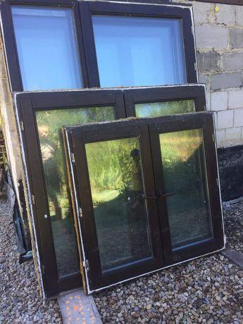 Okna drewniane dwuszybowe