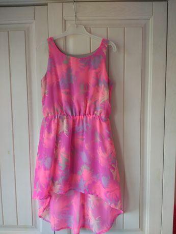 Letnia sukienka dla dziewczynki r.134 jak nowa
