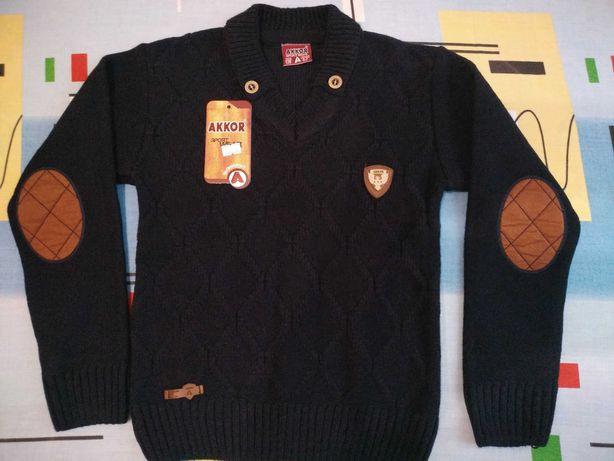Стильный свитерок на 6-7 лет
