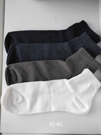 Носки супер Якість спорт рубчик шкарпетки спорт білі чорні носки