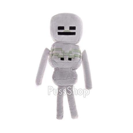 Мягкая игрушка герой Майнкрафт Скелет 24 см Minecraft